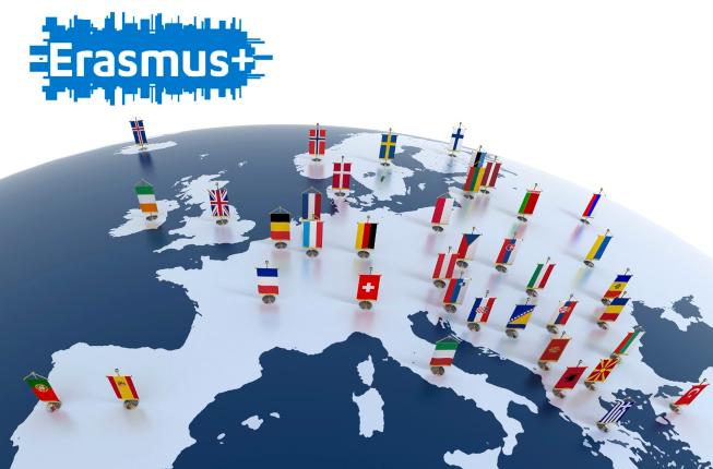 Collegamento a Erasmus +