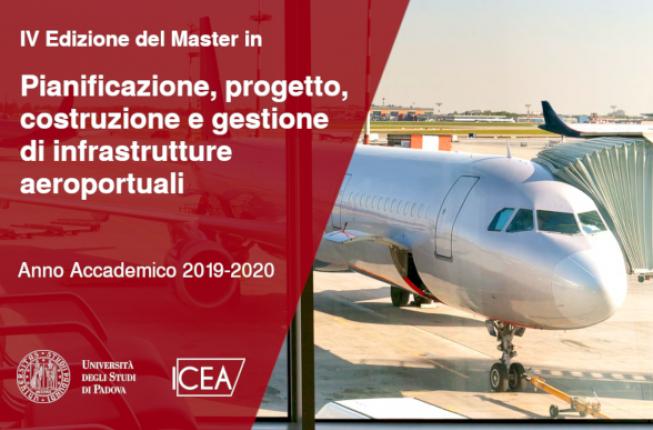 Collegamento a Quarta edizione del Master in Pianificazione, progetto, costruzione e gestione di infrastrutture aeroportuali