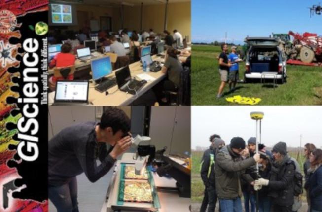 Collegamento a GIScience e Sistemi a Pilotaggio Remoto, per la gestione integrata del territorio e delle risorse naturali